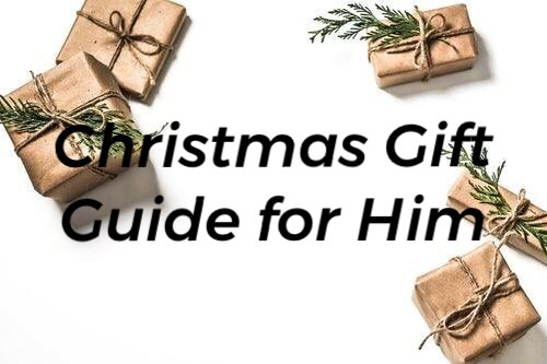 Christmas Gift Guide for Him 2018